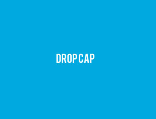 How to Add Drop Caps in WordPress Posts and Pages