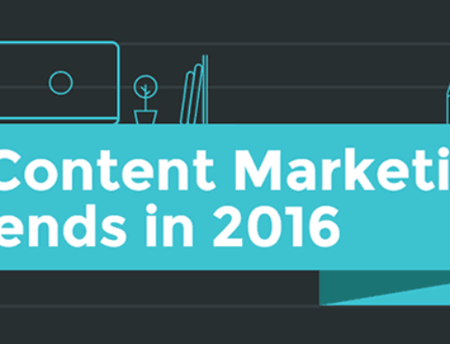 5 Content Marketing Trends in 2016 [Infographic]