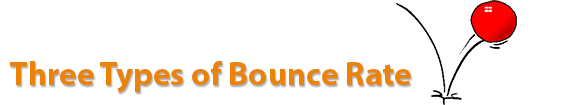 three types of bounce rate