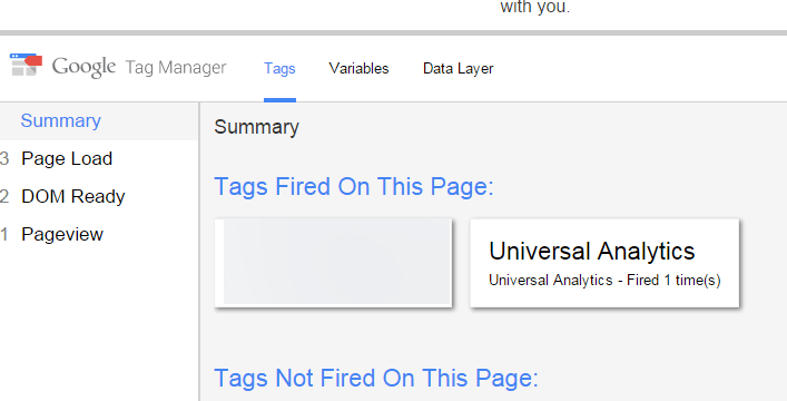 Google Tag Manager Preview Mode