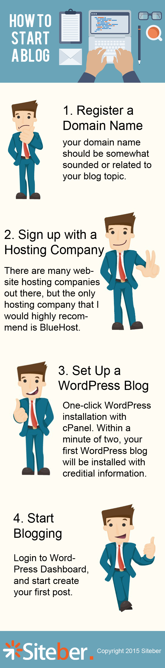 how to add a blog to my wordpress website