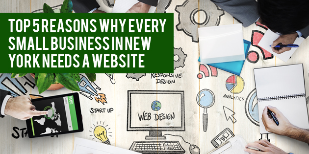 Top 5 Reasons Why Every Small Business in New York Need a Website