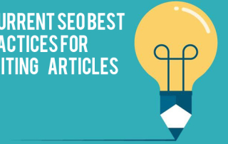 6 Current SEO Best Practices For Writing Articles
