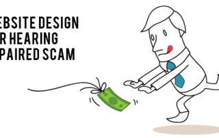 Website Design for Hearing Impaired Scam
