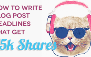 How to Write Blog Post Headlines